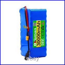 36V 30Ah Lithium li-ion Battery Pack 1000W ebike Bicycle E Bike Electric charger