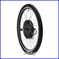 36V 500W 26 Rear Wheel Electric Bicycle E-bike Kit Conversion Cycling Motor