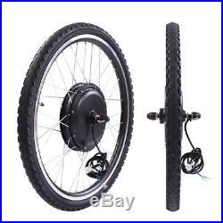 36V 500W 26Front Wheel Electric Bicycle Motor Kit E-Bike Conversion Kit