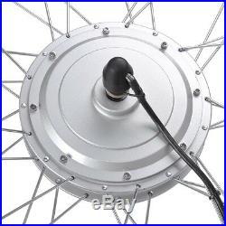 36V 750W 24 Front Tire Electric Bicycle e-Bike Conversion Kit Cycling Hub