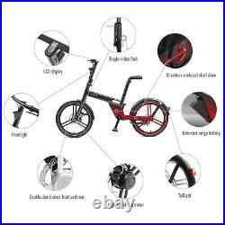 36V Electric Folding Chainless E Bike
