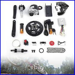 450W 48V Electric Bicycle Mid-Drive Motor Conversion Kit Refit E-bike DIY Parts