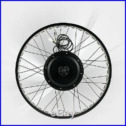 48V 1000W 26 Fat Tire Rear Wheel Electric Bicycle E-bike Kit Conversion Motor