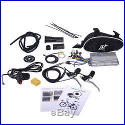 48V 1000W Electric Bicycle Cycle E Bike 26 Rear Wheel Conversion Kit Hub Motor