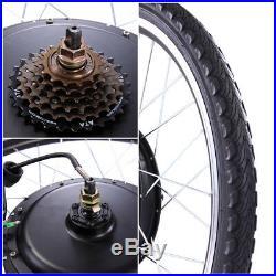 48V 1000W Electric Bicycle Cycle E Bike 26Conversion Kit Hub Motor Rear Wheel