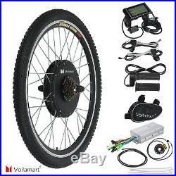 48V 1000W Electric Bicycle EBike Rear Cycling Wheel Conversion Kit Hub Motor