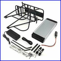 48V 14Ah 1000W Key Rear Rack Carrier E-bike Li-ion Battery for Electric Bicycle