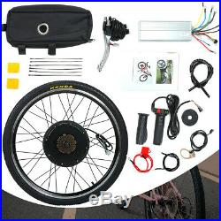 48V 1500W 26 Rear Wheel Electric Bicycle Motor Kit Conversion EBike Cycling Hub