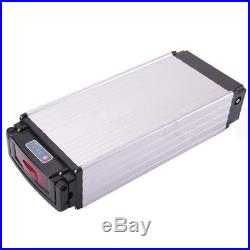 48V 20Ah 1000W LED Rear Rack Carrier Li-ion Battery For E-bike Electric Bicycle