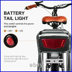 48V 20Ah Rear Rack Ebike Battery for 1500W Motor Electric Bike Lithium Battery