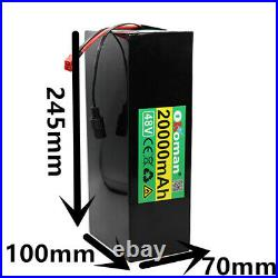 48V 20Ah rechargeable li-ion battery pack fit for bicycle 1000W E BIke electric
