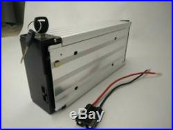 48V 20ah Li-ion Rechargeable Ebike Battery With Rear Rack Case & Charger NEW