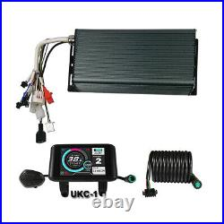 48V-72V 80A 2000W-4000W Sine Wave Sabvoto Controller &LCD eBike Electric Bicycle