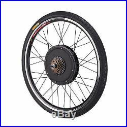 48V Electric Bicycle E-Bike 26 Front Rear Wheel Conversion Kit Cycling Motor