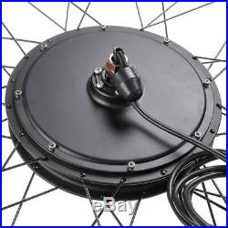 48V1000W26 Front Wheel Electric Bicycle Motor Kit E-Bike Cycling Hub Conversion