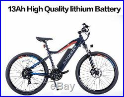 48V750W13AH Electric Mountain Bicycle City E-Bike Lithium Battery