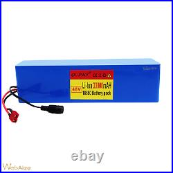 48v 30Ah Battery For Electric Bicycle Ebike Li-ion Volt Rechargeable Motor 1000W