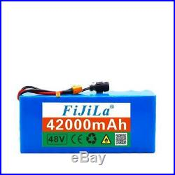 48v 42ah 1000watt 13s3p 18650 Battery Pack Mh1 54.6v E-bike Electric Bicycle Bat
