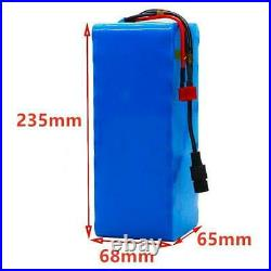 48v Lithium Ion Battery Pack 99ah 1000w For E-bike Electric Bicycle Bms+ Charger