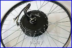 5000w Peak Hub Motor Electric Bike (ebike) Conversion Kit