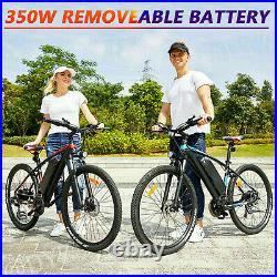 500W 26 Electric Bike Mountain Bicycle Commuter Ebike Shimano 48V 15Ah Bikes