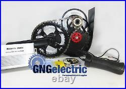 60v700w Chain Reduction MID Drive Electric Motorized E Bike Kit (brushless)
