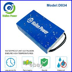 72V 40Ah Max 5600W Ebike Lithium Ion Battery 100A BMS for ScooterElectric Bike