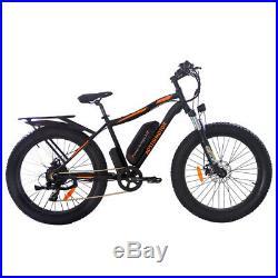 AOSTIRMOTOR Electric Mountain Bike 264 inch Fat Tire Ebike, 750W 48V 13AH S07-B