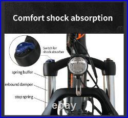 AOSTIRMOTOR S07-2 Electric Mountain Bicycle 750W 48V LiBattery 26 FatTire Ebike