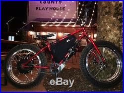 BMX Fat bike by Ebike1 10,000 watts QS V3 motor Motocross Wheels