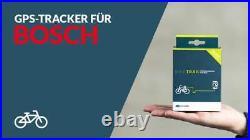 BikeTrax Powunity GPS-Tracker E-Bike Diebstahlschutz für Bosch Generation 4