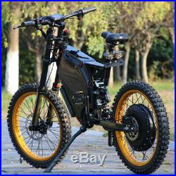 C&E 12000with72v Electric Moped Scooter Ebike Mountain Bike 120-130km/h FAST NEW