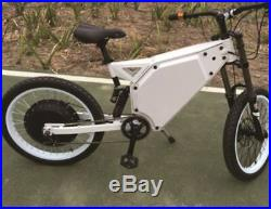 C&E 5000with72v Electric Moped Scooter Ebike Mountain Bike 80-100km/h FAST NEW