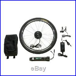 Complete Electric Bike Kit Front Wheel E-bike Conversion Kit Battery Included