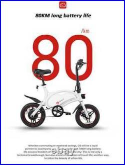 DYU Smart E Bike Roller Scooter D3 Plus Mit Kindersattel Und Fußpedalen