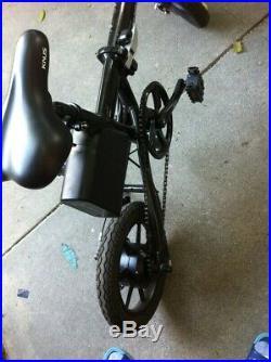 Dual 14 inch Wheel Power E-Bike (Black)