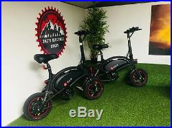 Dyu D2 250w 36v Folding Electric Bike Ebike Light Road Legal Scooter Adult Cycle