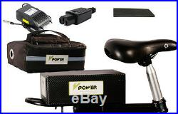 E-BIKE 36V 10AH Li-ion Battery Pack Scooters Electric Bicycle Storage Power +BMS