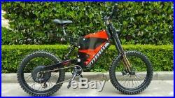 E-Bike High Power 48/60/72V 3000-5000W Intelligent Conversion Kit With Bluetooth