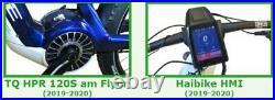 E-Bike Tuning für Haibike Flyon mit TQ HPR 120S HMI 2019 2020 tatsächliche km/h