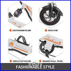 EBike 250W Folding Electric Bike/Scooter with 36V 12Ah Lithium Battery