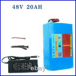EBike Li-ion Battery 48V 20AH 750W 1000W E BIKE Electric Motor Scooter &30A BMS