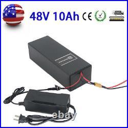 EBike Li-ion Battery 48V10AH For 500W E Bike Scooter Electric Bicycle Motor BMS