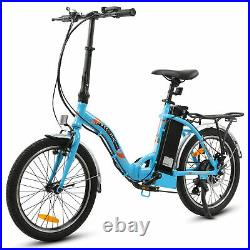 ECOTRIC 20 36V FOLDING Electric Bicycle eBike Removable Battery 7 Speed