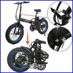 ECOTRIC 20 Folding e-bike Mountain Beach City Fat Tire Electric Bicycle E BIKE