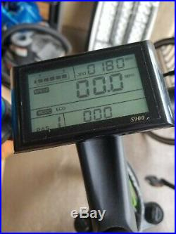 ECOTRIC 26 1000W 48V 13Ah Mountain Electric E-Bike Bicycle Hydraulic Brake LCD
