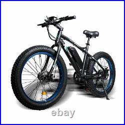 ECOTRIC 26 500W 36V Fat Tire Mountain Electric e-Bike Bicycle Removable Battery