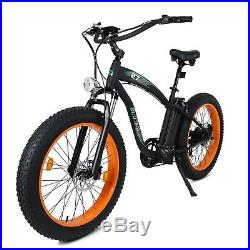 ECOTRIC 48V 13Ah Electric e-Bike Bicycle Removable Battery Hydraulic Brake LCD