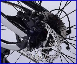 EDGE 27.5x3.0 Ebike SemiFat Tire 1000W Mid Bafang Motor 17.5Ah Full Suspension