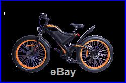 EZ Electric Mountain Bicycle Battery Powered E-Bike 48 v 750 w 26 in brand new